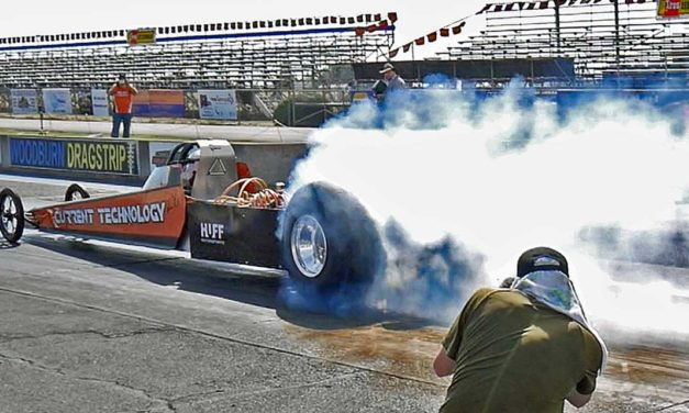 Local Racer Steve Huff questing for 200MPH record in electric dragster